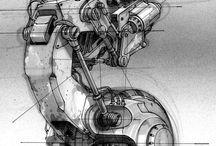 Mech robo máquinas robótica