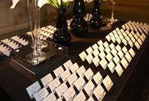 Name Card! / Serviço exclusivo que o convidado ao chegar na festa recebe um cartão personalizado com seu nome que identifica a mesa que ele é acompanhante irão sentar. / by Erika Gurgel