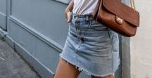 Denim / A Zara submerged outfit, screams Spring/Summer, doubled up denim- sue me.