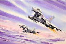 Aviation Paintings / Rob's aviation work