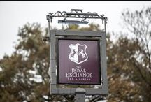 The Royal Exchange / Your new local pub found in Lindford, Hampshire serving up fresh, seasonal and local produce, with some fantastic real ales too. Opening November 2015. / by Red Mist Leisure Pubs