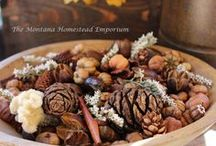 our handmade potpourri and bowl fillers / Candles, tarts, wood signs, soap, and YES handmade potpourri!  All our products are handmade one at a time. Quality pods, dried fruits, beautiful flowers, and premium fragrance oils  go into all our potpourri blends.