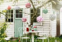 She Sheds / Beautiful 'She Sheds' tips for creating the perfect she shed for the female gardener