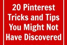 Social Media Tips / Online Marketing using Social Media tips for Pinterest, Twitter, Facebook, Instagram, Google plus and Linked in