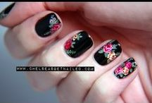 Nail tutorials / This is one of my passions! A bright color or lovely nail art, could really brighten up any day! :)
