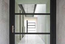 glass front doors @ 55
