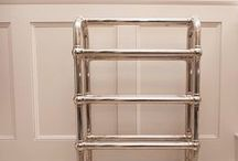 Chadder Traditional Heated Towel Rails. / Traditional Style Heated Towel Rails.  Our heated towel rails are made of solid brass and plated in either Nickel, Chrome or Gold Finish.  Our towel rails can be either Water heated, Electrically heated or Duel heated.   Our Towel Rails can all be made bespoke to any size required.   Bespoke Designs and Luxury Bathrooms