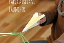 Paper airplane / FLYGPLAN!!!!!!!!!!!!!!!!!!!!!!