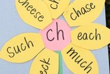 Teaching Digraphs / Activities, anchor charts, sorts, games, posters and worksheets for teaching digraphs in kindergarten or first grade.