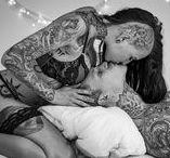 "Shooting ""Tattooed Couple"""
