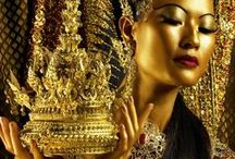 Jinafire / #Asia #gold #the orient #red