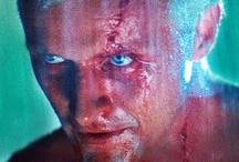 Film: Blade Runner / Ridley Scott's 'Blade Runner' cyberpunk science-fiction film (1982) starring Harrison Ford, Rutger Hauer, Sean Young, Edward James Olmos, & Daryl Hannah. / by Artist Steve Oatney
