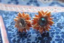 Handmade clay jewelleries