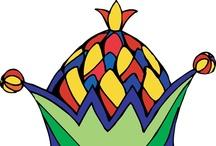 Feestmutsen voor kleuters / Preschool hats / paperhats / Chapeau de fête maternelle / Feestmutsen voor kleuters / Preschool hats / paperhats / Chapeau de fête maternelle / hoeden, feestmutsen paperhats, hats, preschool, toddlers, party