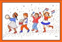 Koningsdag kleuters / King's day preschool / Roi thème maternelle / Koningsdag kleuters / King's day preschool / / Roi thème maternelle
