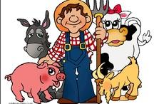Thema boerderij kleuters / Farm theme preschool / Ferme thème maternelle / Thema boerderij kleuters / Farm theme preschool / Ferme thème maternelle