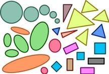 Thema vormen kleuters / Theme shapes preschool / Thema vormen kleuters lessen en knutsels / theme shapes lessons and crafts preschool
