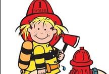 Thema brandweer kleuters / Theme fireman preschool / Thema bradweer kleuters lessen en knutsels / Theme fireman preschool lessons and crafts