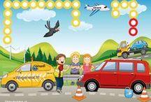 Thema pech onderweg / Theme breakdown on the roadside / Thema pech onderweg / Theme breakdown on the roadside