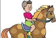 Thema paarden kleuters / Horse theme preschool / Cheval thème maternelle / Thema paarden kleuters lessen en knutsels / Horse theme preschool, lessons and crafts / Cheval thème maternelle, bricolage