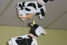 Thema koe kleuters / Cow theme preschool / Vaches thème maternelle / Thema koe kleuters, lessen en knutsels / Cow theme preschool, lessons and crafts / Vaches thème maternelle, bricolage