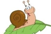 Thema slakken kleuters / Slug theme preschool / Thema slakken kleuters / Slug theme preschool
