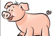 Thema varkens kleuters / Pig theme preschool / Thema varkens kleuters, lessen en knutselen / Pig theme preschool, lessons and crafts