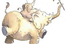 Thema olifanten kleuters / Elephant theme preschool / Thema olifanten kleuters, lessen en knutsels/ Elephant theme preschool, lessons and crafts