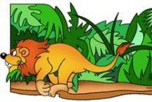 Thema leeuwen kleuters / Lion theme preschool / Lion thème maternelle, bricolage / Thema leeuwen kleuters, lessen en knutselen / Lion theme preschool, lessons and crafts / Lion thème maternelle, bricolage