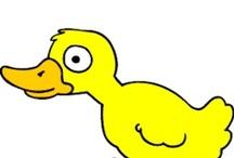Thema eenden kleuters / Duck theme preschool / Canard thème maternelle / Thema eenden kleuters, lessen en knutselen / Duck theme preschool, lessons and crafts / Canard thème maternelle, bricolage et leçons