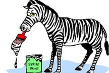 Thema zebra's kleuters / Zebra theme preschool / Zèbre thème maternelle / Thema zebra's kleuters, lessen en knutselen / Zebra theme preschool, lessons and crafts / Zèbre thème maternelle, bricolage et leçon
