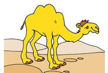 Thema kamelen kleuters, Camel theme preschool, Camel thème maternelle / Kamelen kleuters, lessen en knutselen / Camel theme preschool, lessons and crafts / Camel thème maternelle, bricolage