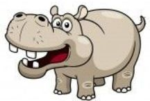 Thema nijlpaard kleuters / Hippo theme preschool / Thema nijlpaard kleuters, lessen en knutselen / Hippo theme preschool, lessons and crafts