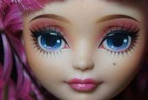 Ever After High / Customizations,photos & fan art of Ever After High dolls.