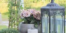 Tuin decoratie / de tuin het hele jaar door