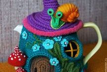 Knitting and crochet / All sorts of knitting and crochet that I would like to make someday