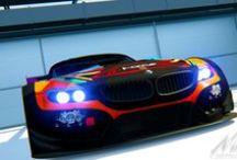 Deltec Racing Design BMW Z4-GT3 / Deltec Racing Design for BMW Z4-GT3 for the Sim Race SA sim GT League. Livery by Riaan van der Westhuizen.