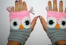 Crochet wristwarmer
