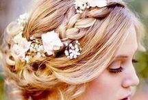 wedding look / hair make-up