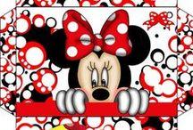 Printies - ***Mickey & Minnie*** / by Moni-Berlin