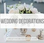 Wedding Decorations /  Chic and inspirational wedding decorations to make your wedding less ordinary!                                                                                      For our Free EPIC Wedding Planner sign up here: http://ow.ly/RSnX30b66go Creative Wedding Decorations   Outdoor Wedding Decorations   Wedding Centrepieces   Wedding Backdrops   Aisle Decorations   Wedding Decoration Ideas   Homemade Wedding Decorations   Wedding Tablescapes   Hanging Wedding Decorations