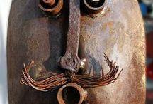 Metal -Rusty Ideas / Sculptures