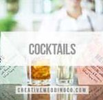 Cocktail Recipes / Lots of yummy creative cocktails - you could even have them at your wedding!