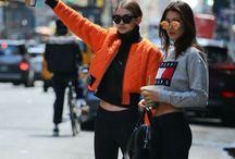 HADID / Gigi and Bella Hadid Fashion Inspo!