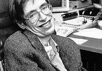 Stephen Hawking / 8 de gener de 1942, Oxford, Regne Unit - 14 de març de 2018, Cambridge, Regne Unit