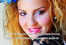 Color photography / makeup, fotografia e grafica di Giorgia Di Giorgio