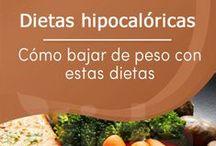 Dietas / Dietas para bajar de peso, dietas para desintoxicar el cuerpo, dietas efectivas para llevar un estilo de vida saludable.