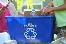 Ellacycle / Ideas for parents to help kids recycle or do things for the Earth / by Ella's Kitchen