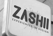 Zashii Design Portfolio / A collection of work by Zashii design