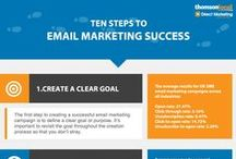 Email infographics / A collection of Infographics to aid small businesses when making their Promotional emails.